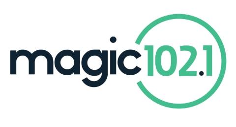 Magic 102.1 FM - Northeast Georgia's Best Variety of the 80's, 90's, and Today Logo